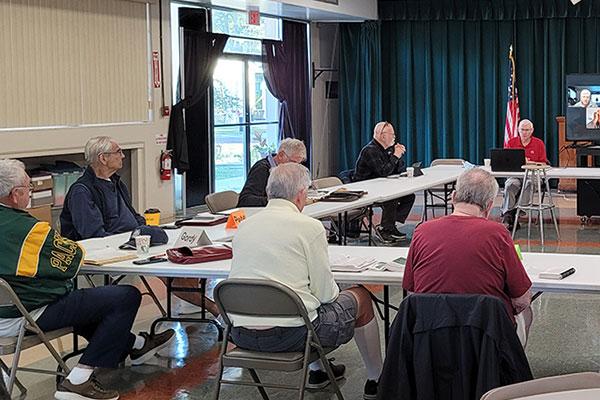 1st Church Men's Group